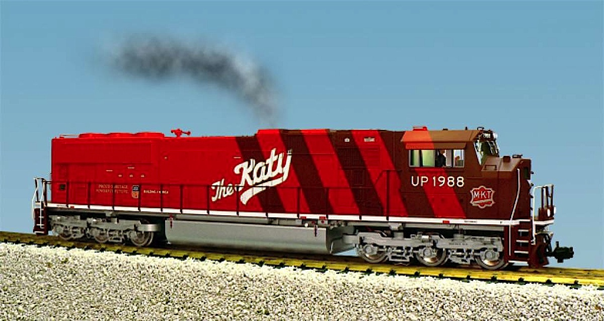 "Union Pacific Heritage SD-70 Diesellok (Diesel locomotive) 1988 ""The Katy"""