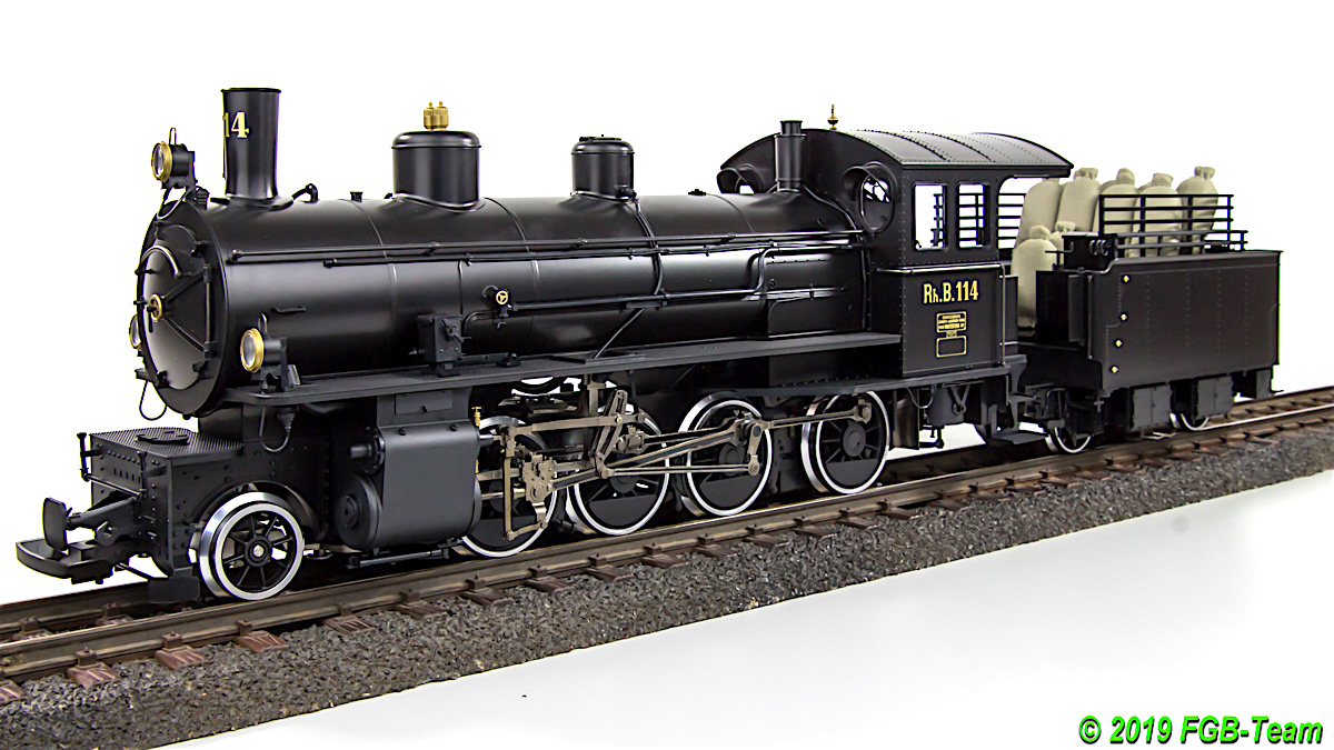 RhB Dampflok (Steam locomotive) G 4/5 114