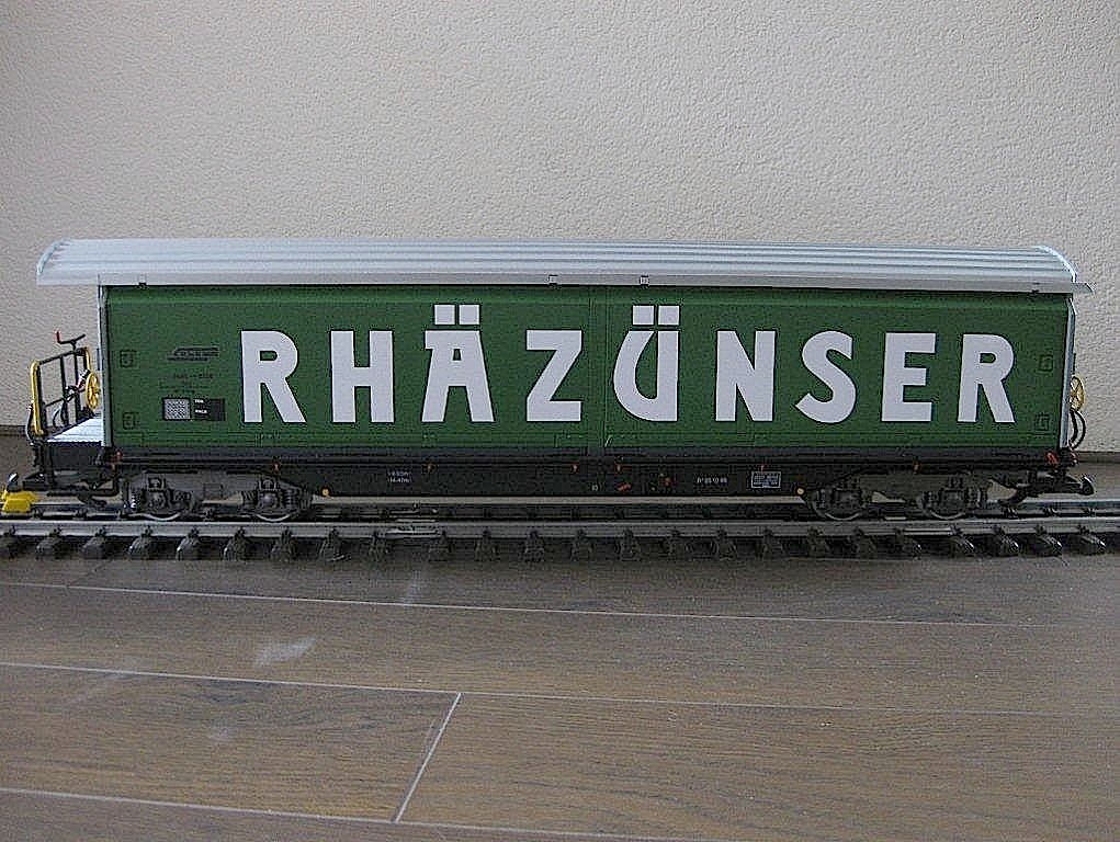 RhB Schiebewandwagen (Sliding wall car) 5129