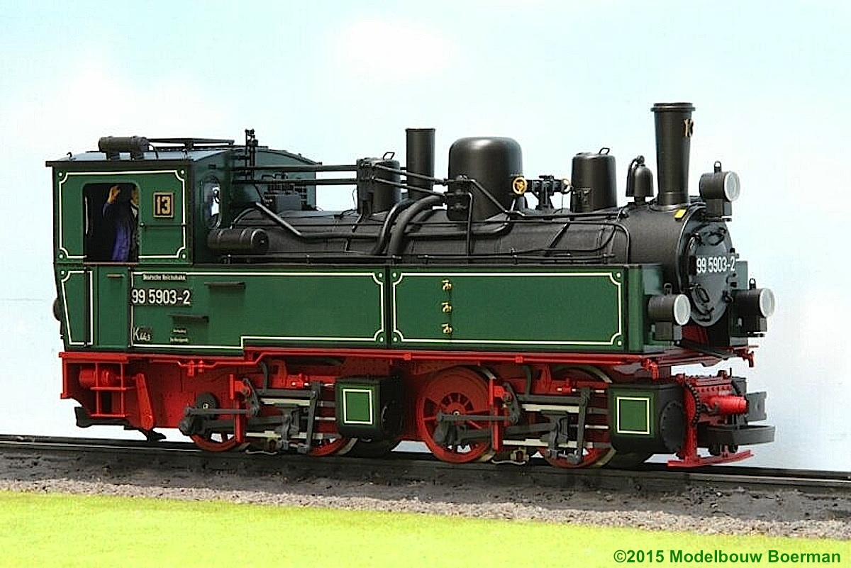 DR Dampflok (Steam Locomotive) 99 5903
