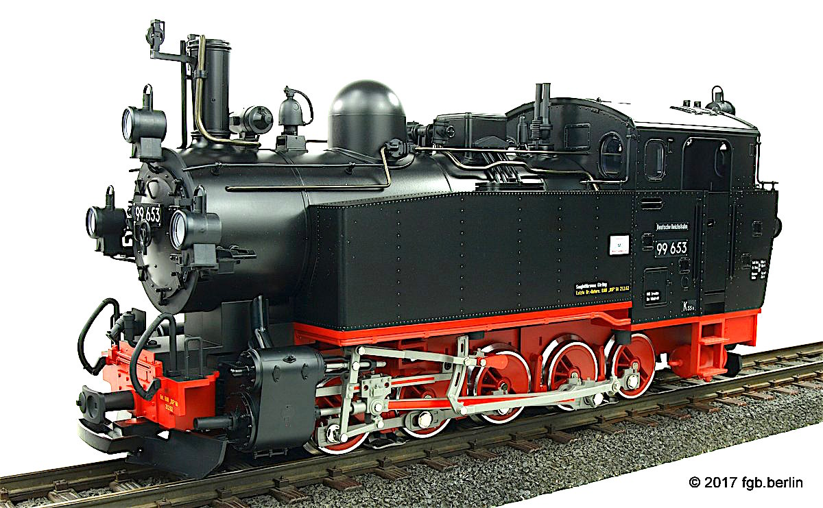 DR Dampflokomotive (Steam locomotive) 99 653