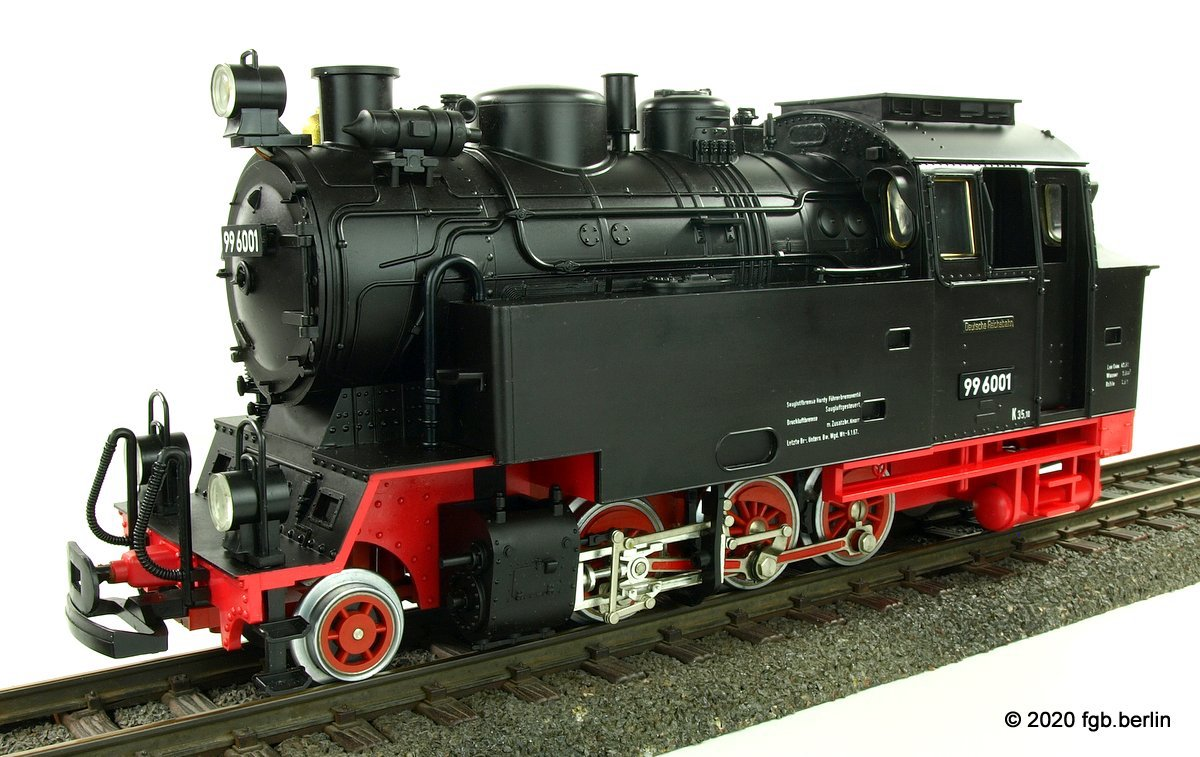 DR Tenderlok (Steam locomotive) 99 6001 - Version 4