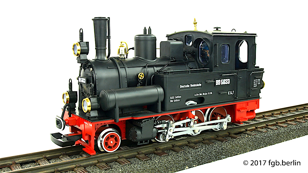 DR Dampflok (Steam Locomotive) Spreewald 99 5633