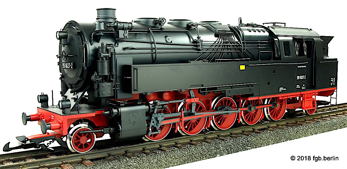 DR Dampflok (Steam Locomotive) 95 1027-2