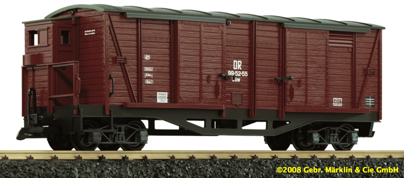 DR Güterwagen (Box car) GGw 99-52-55
