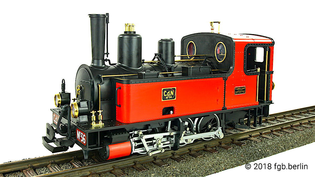 Corpet-Louvet C.d.N 36 Dampflok (Steam locomotive)