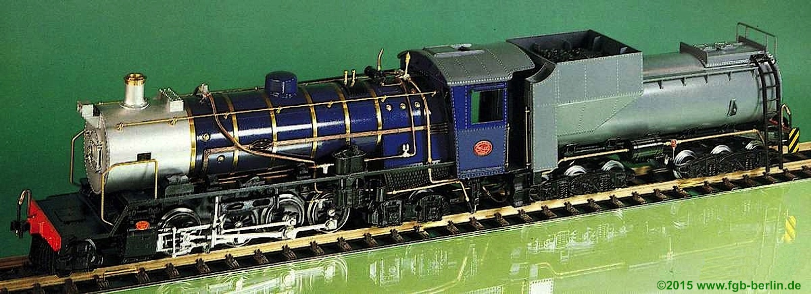Magnus South African Railways Dampflokomotive, (Steam Locomotive) Class 24