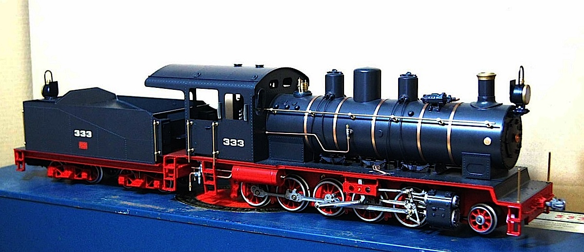 Schansi Dampflokomotive (Steam locomotive) Typ 333
