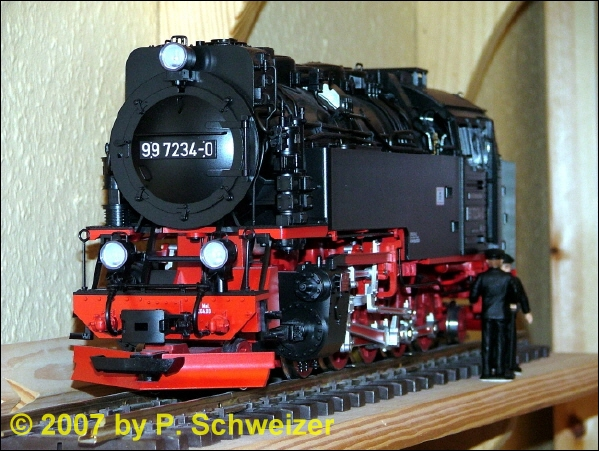 DR Dampflok (Steam locomotive) 99 7234-0