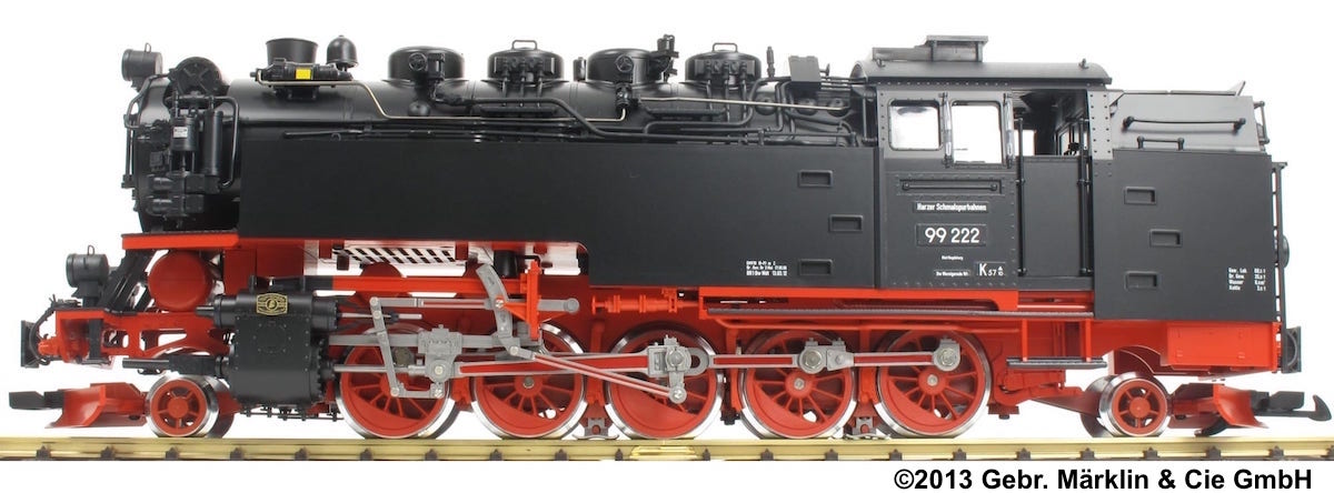 HSB Dampflok (Steam locomotive) 99 222