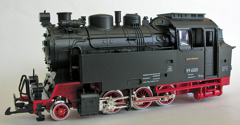 HSB Tenderlok (Steam locomotive) 99 6001