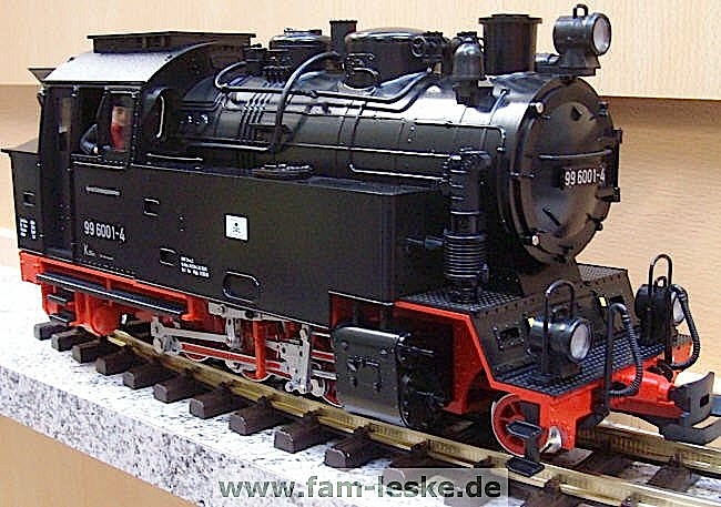 HSB Dampflok (Steam locomotive) 99 6001-4