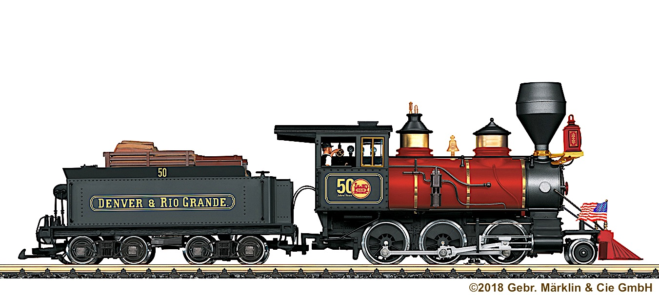 D&RG Mogul Dampflok (Steam Locomotive)