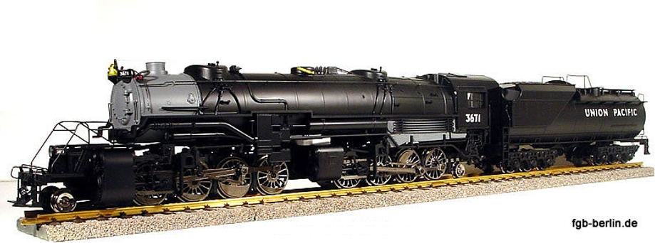 Mallet 2-8-8-2 Schlepptender Dampflokomotive (Steam locomotive) 3671