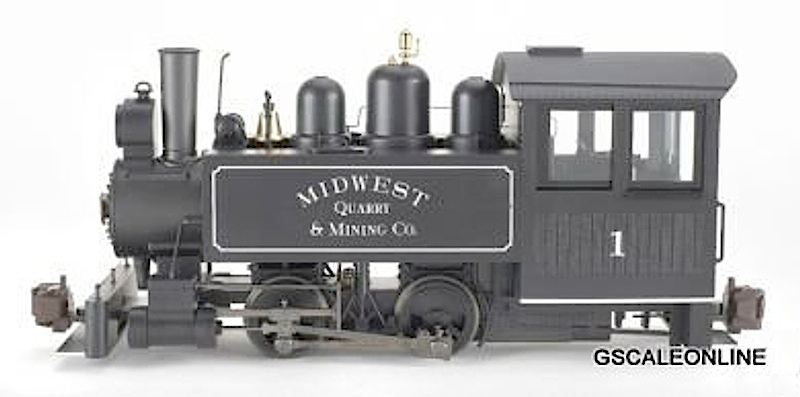 Midwest Quarry Porter Dampflok (Steam locomotive)