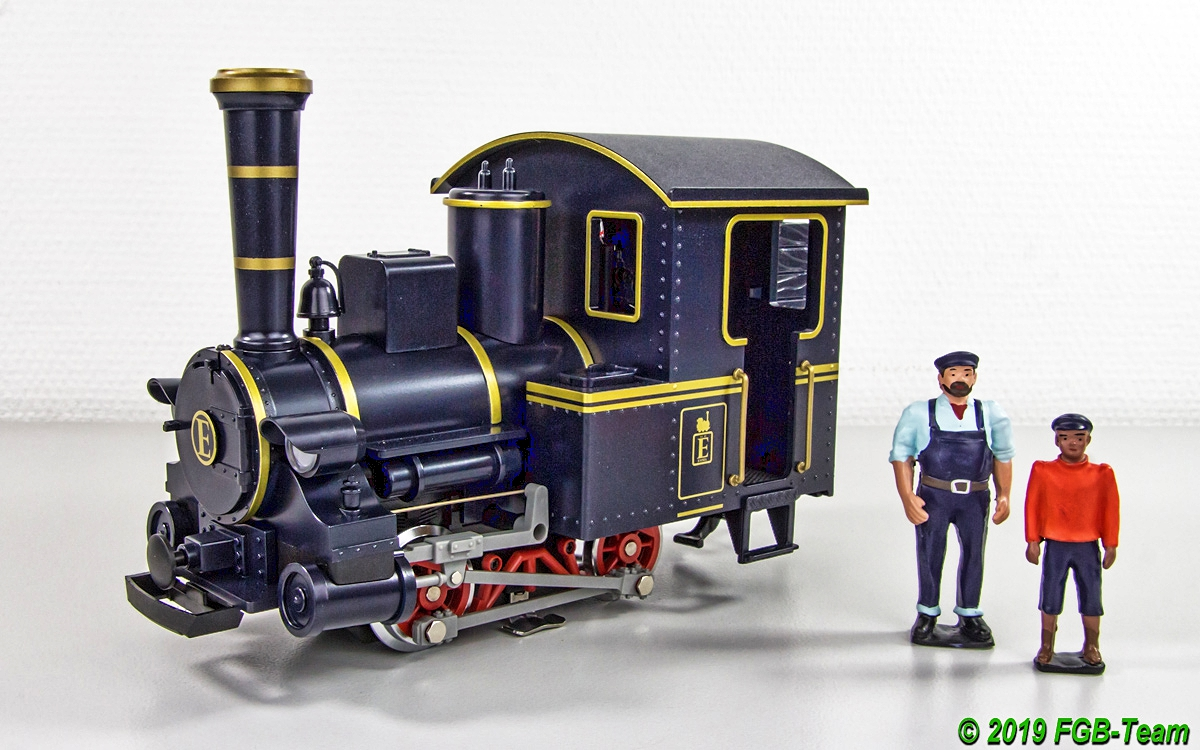 "Dampflokomotive (Steam Locomotive) ""Emma"""