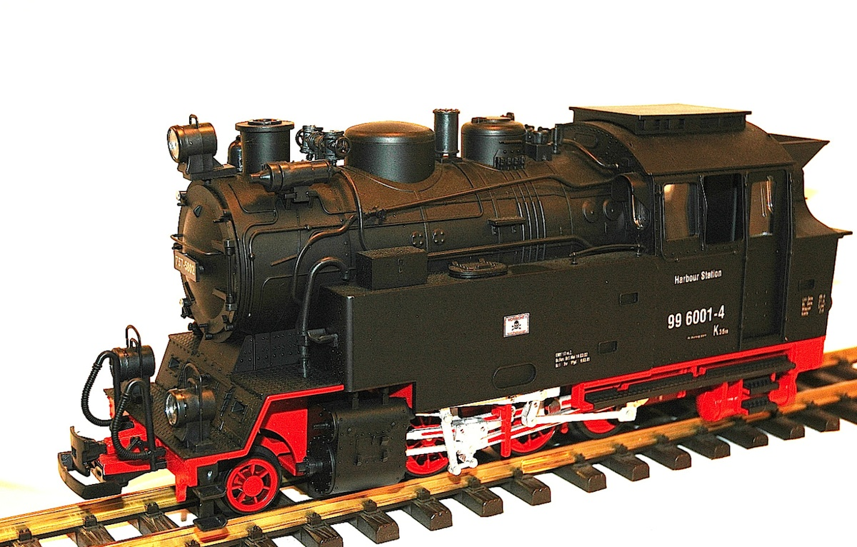 Harbour Station Dampflok (Steam locomotive) 99-6001-4