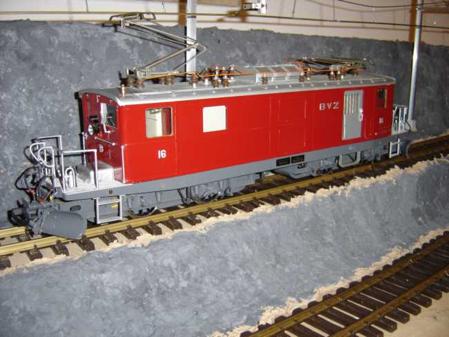 BVZ HGe 4/4 Ellok (Electric locomotive) Nr. 16