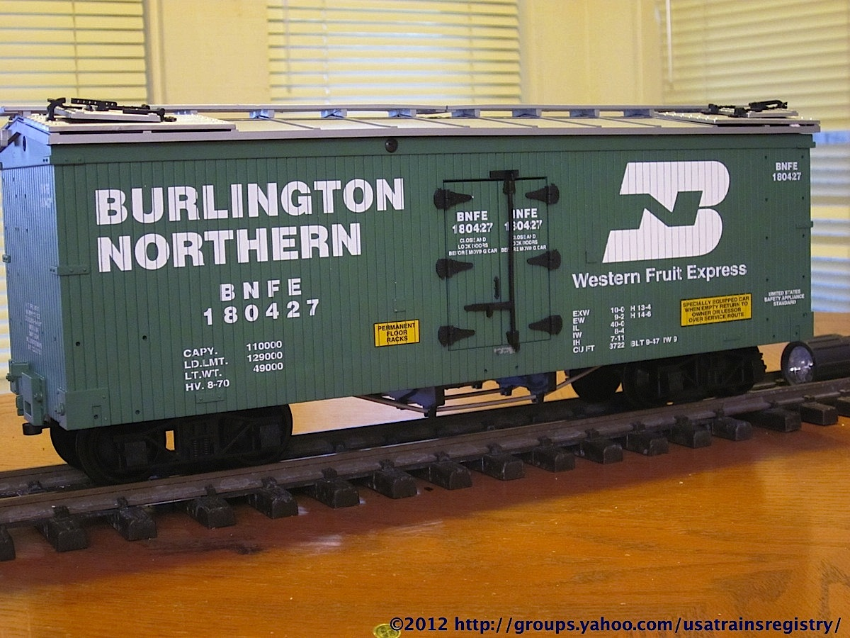 Burlington Northern Kühlwagen (Reefer) BNFE 180427
