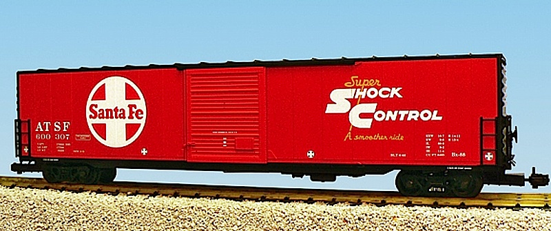 Santa Fe 60ft Box car ATSF 600307