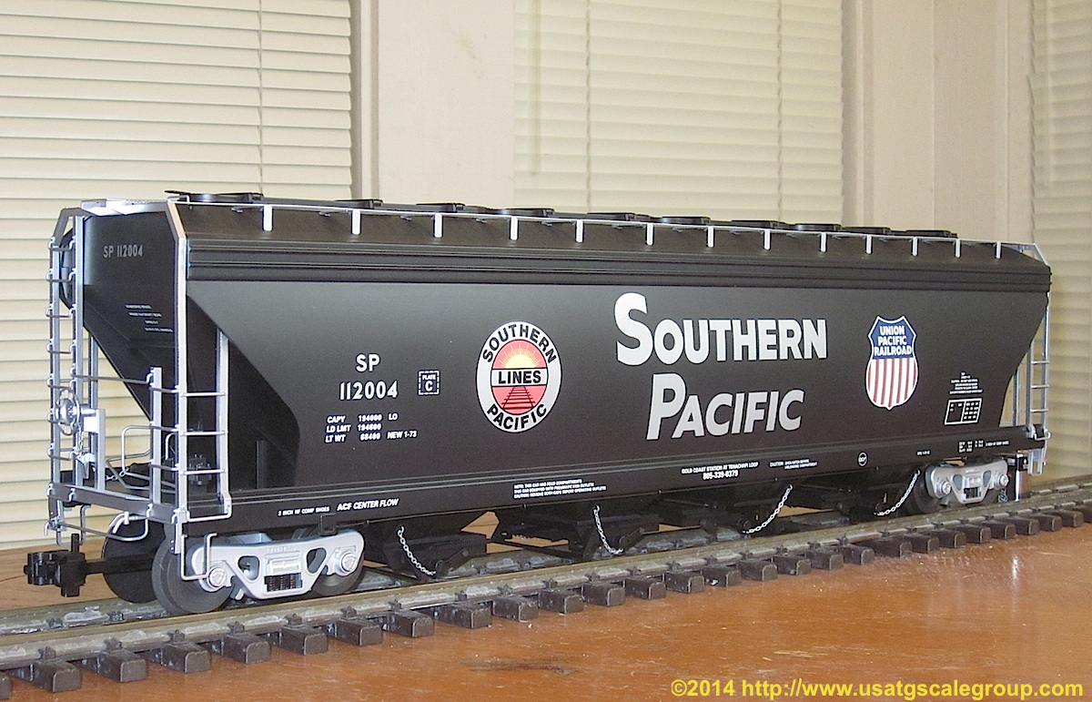 Southern Pacific 55-ft center flow hopper 112004