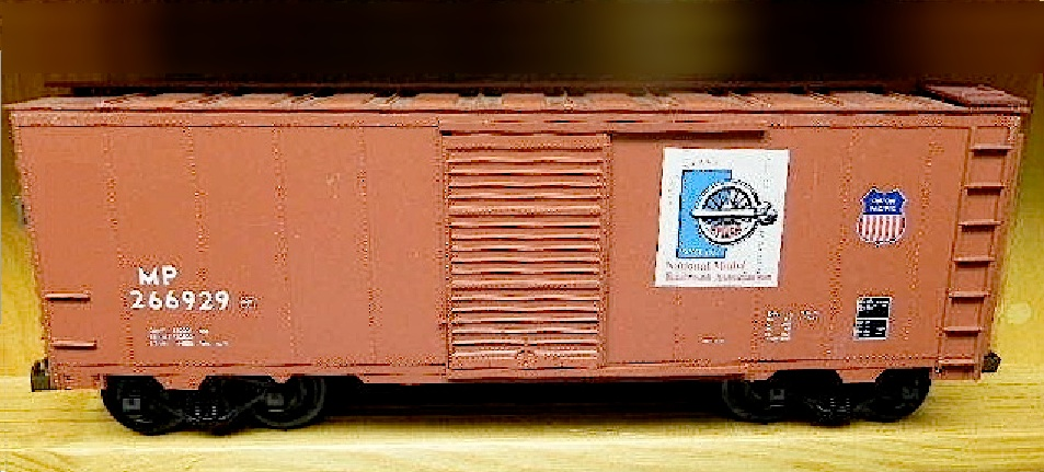 NMRA 60tes Jubiläum Güterwagen (60th anniversary box car) MP 266929