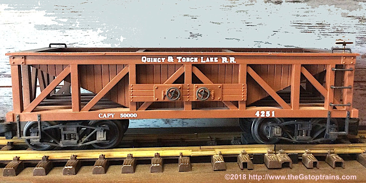 Quincy and Torch Lake Railroad Schüttgutwagen (Hopper) 4251