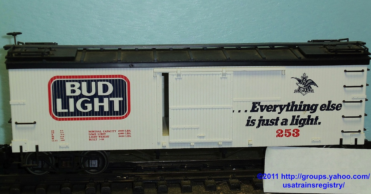Bud Light Kühlwagen (Reefer) 253