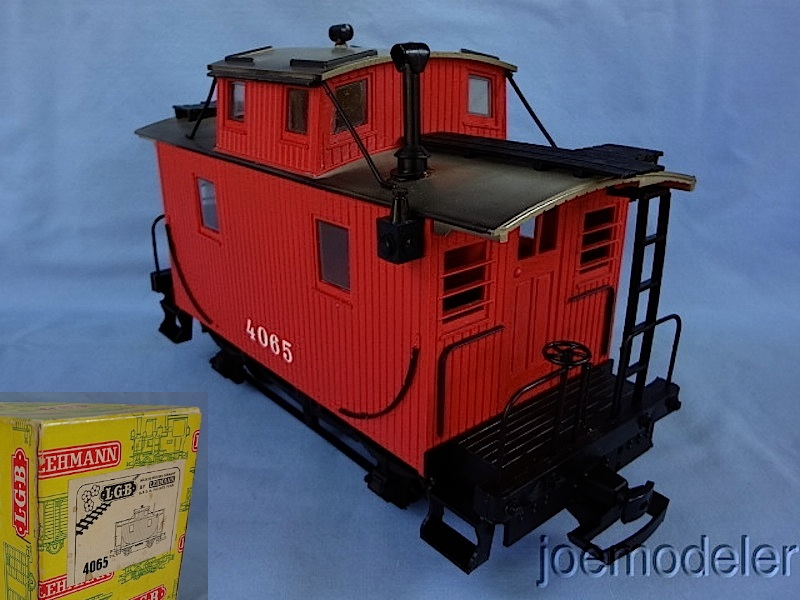 Bobber Caboose, Version 1