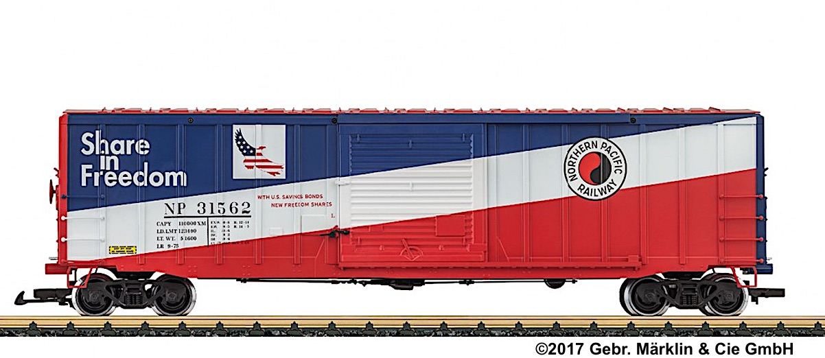 Northern Pacific Boxcar 31562