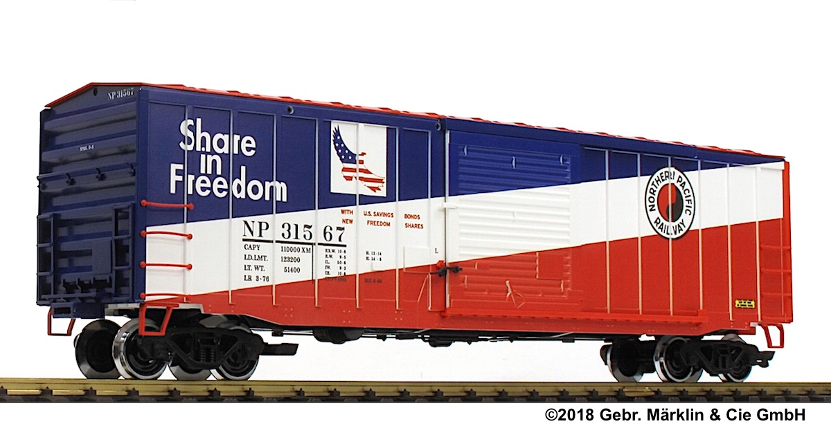 Northern Pacific Boxcar 31567