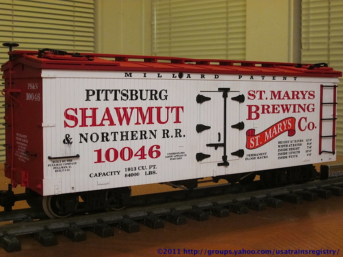 Pittsburg, Shawmut & Northern Kühlwagen (Reefer) 10046