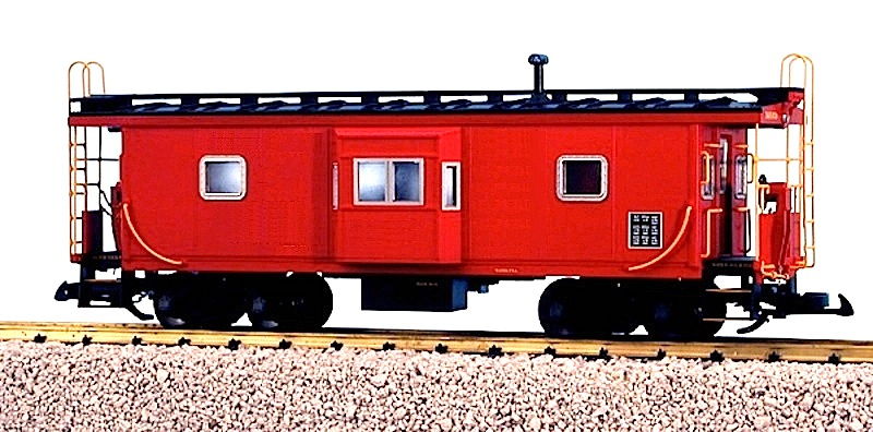 Bay Window Caboose (Unbeschriftet - Undecorated)
