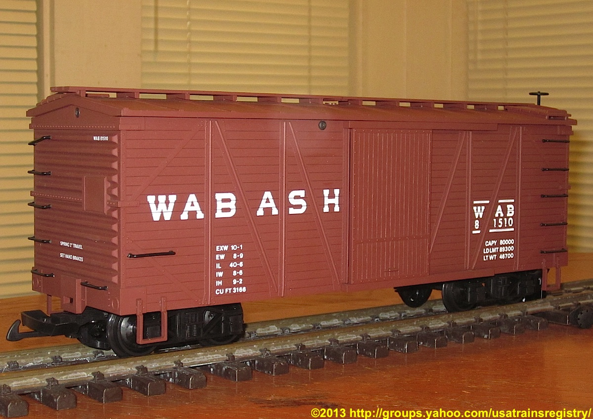 Wabash Güterwagen (Box car) 81510