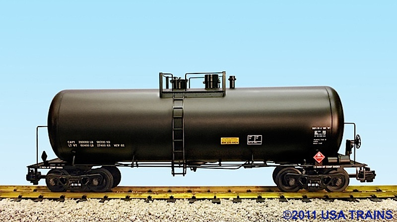 42-Foot Kesselwagen, schwarz (Tank car, black)