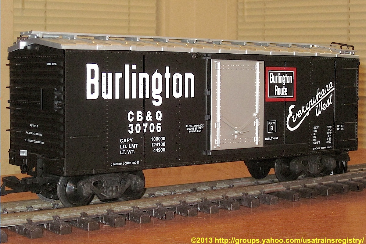 CB&Q Güterwagen (Box car) 30706
