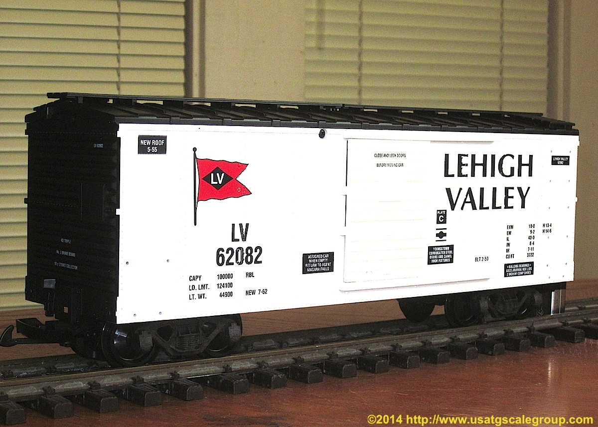 Lehigh Valley Güterwagen (Box car) 62082