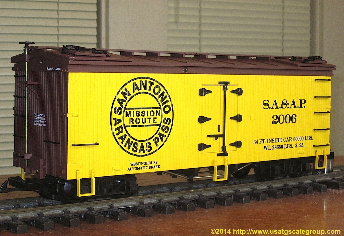 TCA Convention 2006 Kühlwagen (Reefer) San Antonio Arkansas Pass 2006