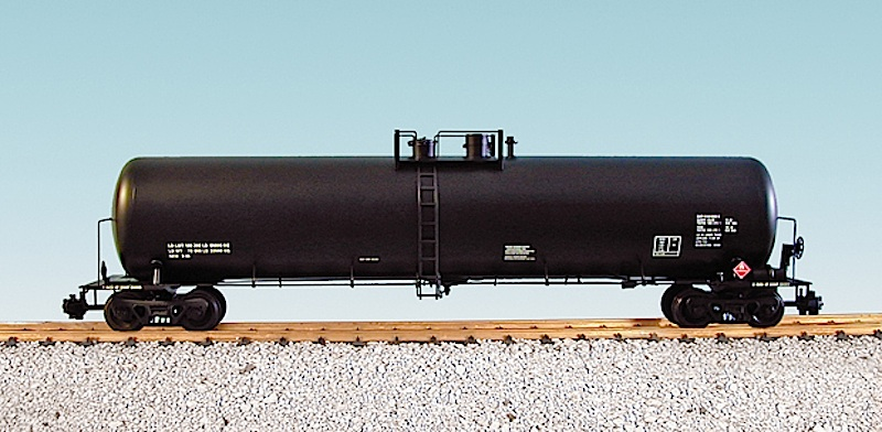 55-Foot Kesselwagen, schwarz (Tank car, black)