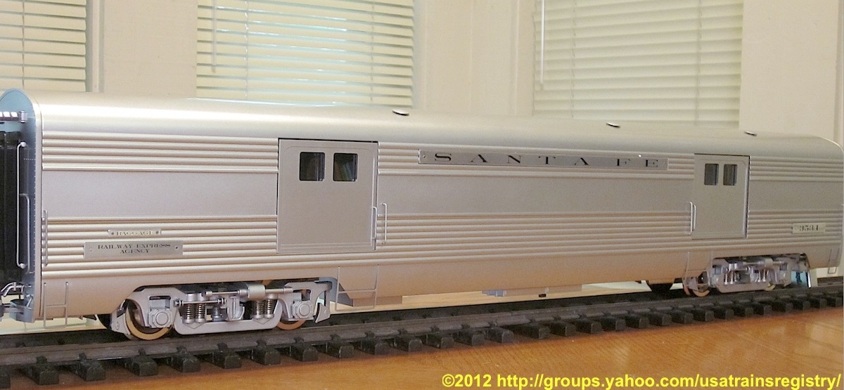 Santa Fe Super Chief  - Gepäckwagen (Baggage car) 3534