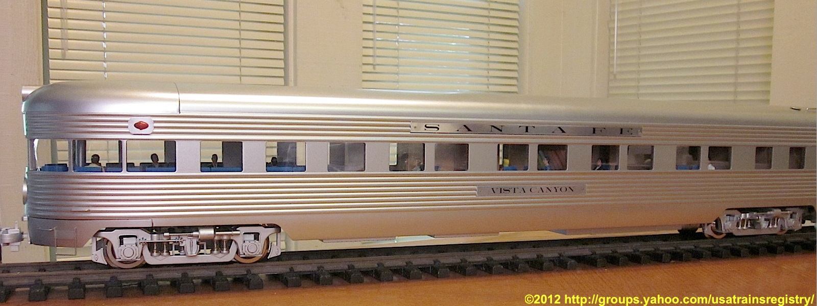 Santa Fe Super Chief - Aussichtswagen (Observation car) - Vista Canyon