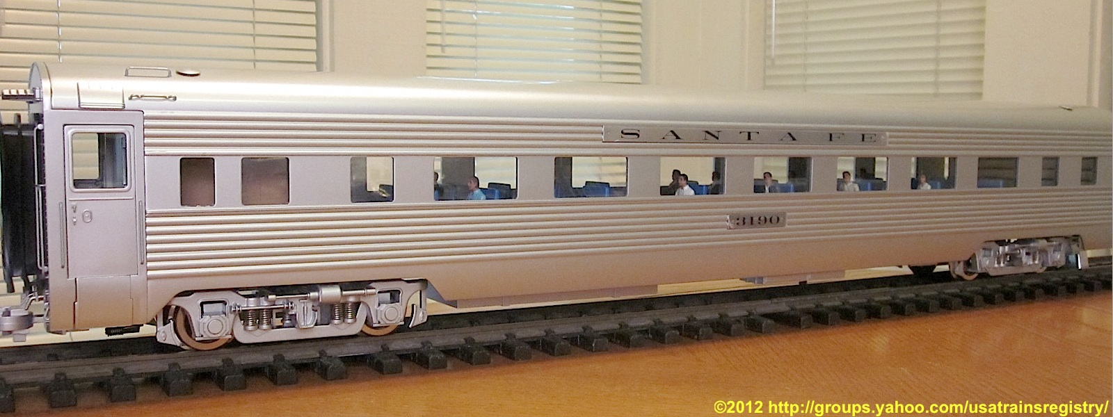 Santa Fe Super Chief - Personenwagen (Passenger car) - 3190