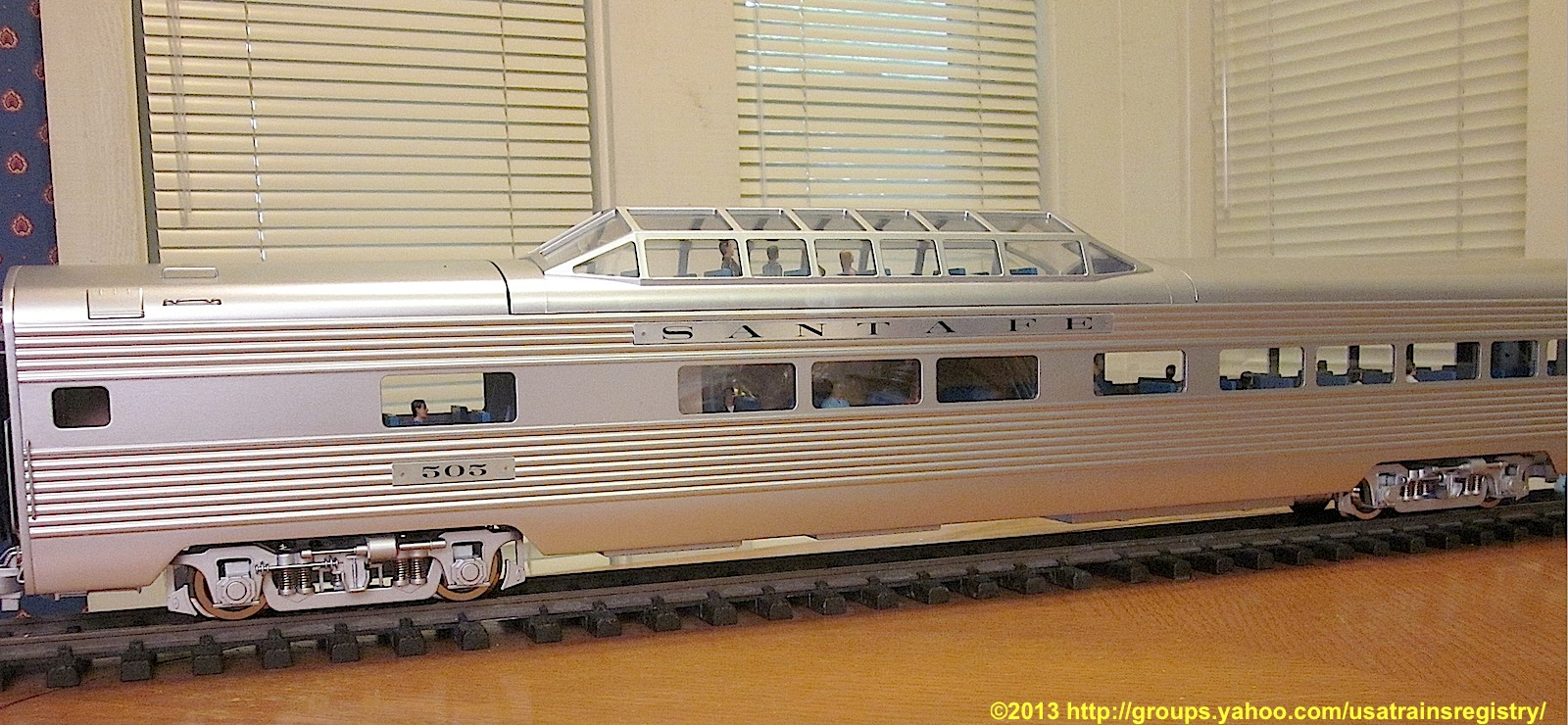Santa Fe Super Chief - Vista Dome - 505