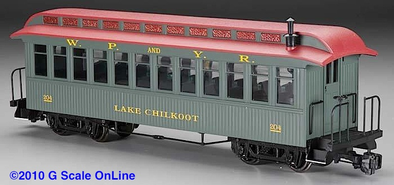"WP&Y Personenwagen (Passenger car) ""Lake Chilkoot"""