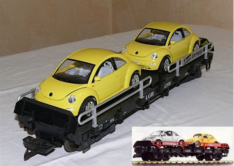 Autotransportwagen (Car Transport car) Beetle Express