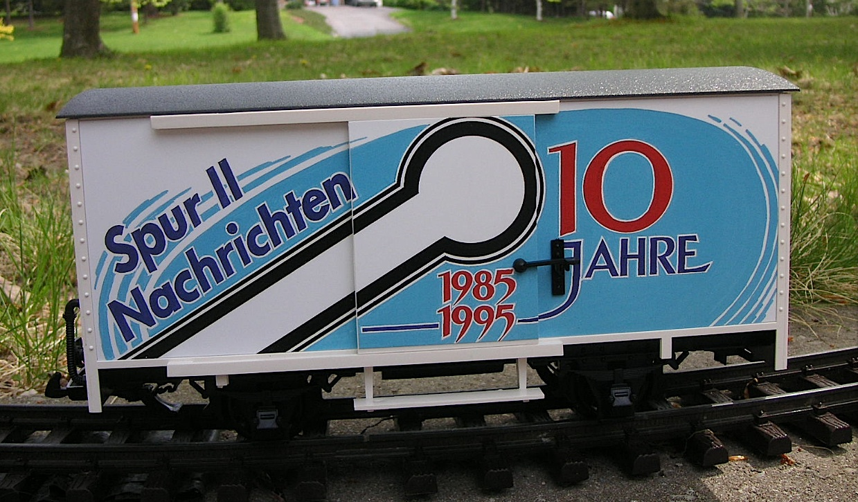 Rhein-Sieg Club Car 1995 - Gedeckter Güterwagen (Box car) + Sound