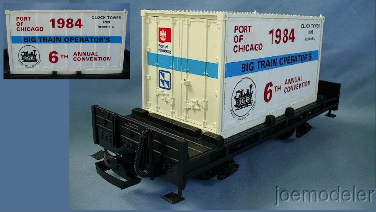 BTO - LGB MRRC 1984 - Jubiläums Wagen (Convention car)