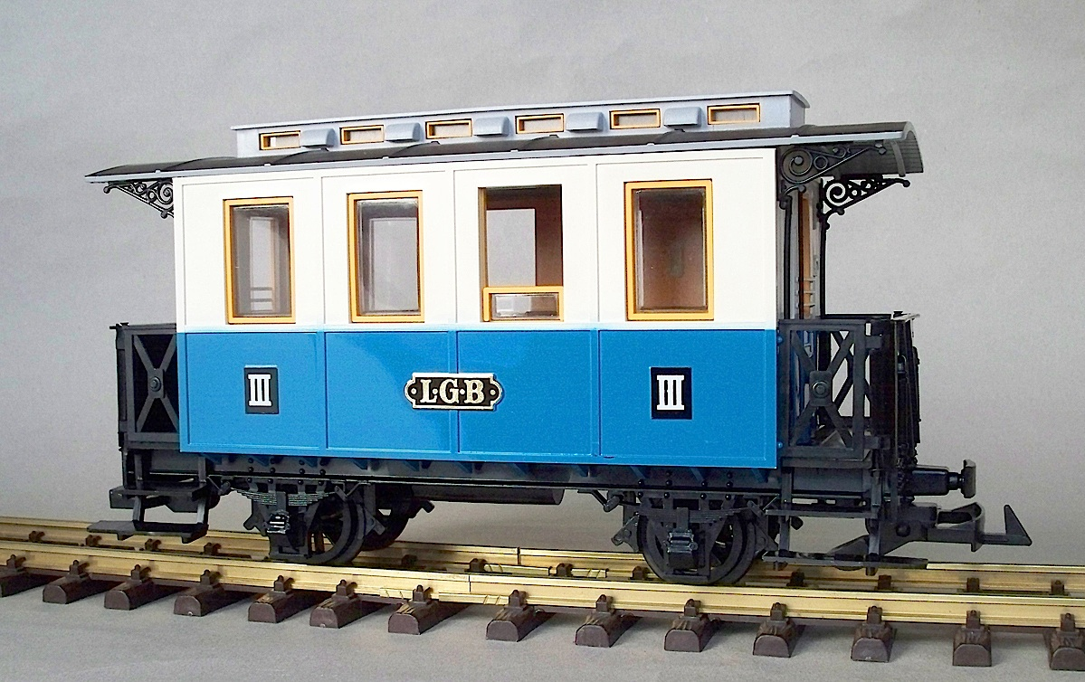 LGB Personenwagen 3. Klasse (Passenger car 3rd class) Version 2