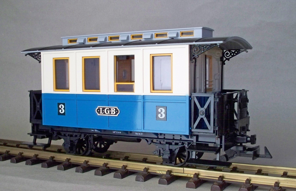 LGB Personenwagen 3. Klasse (Passenger car 3rd class) Version 4