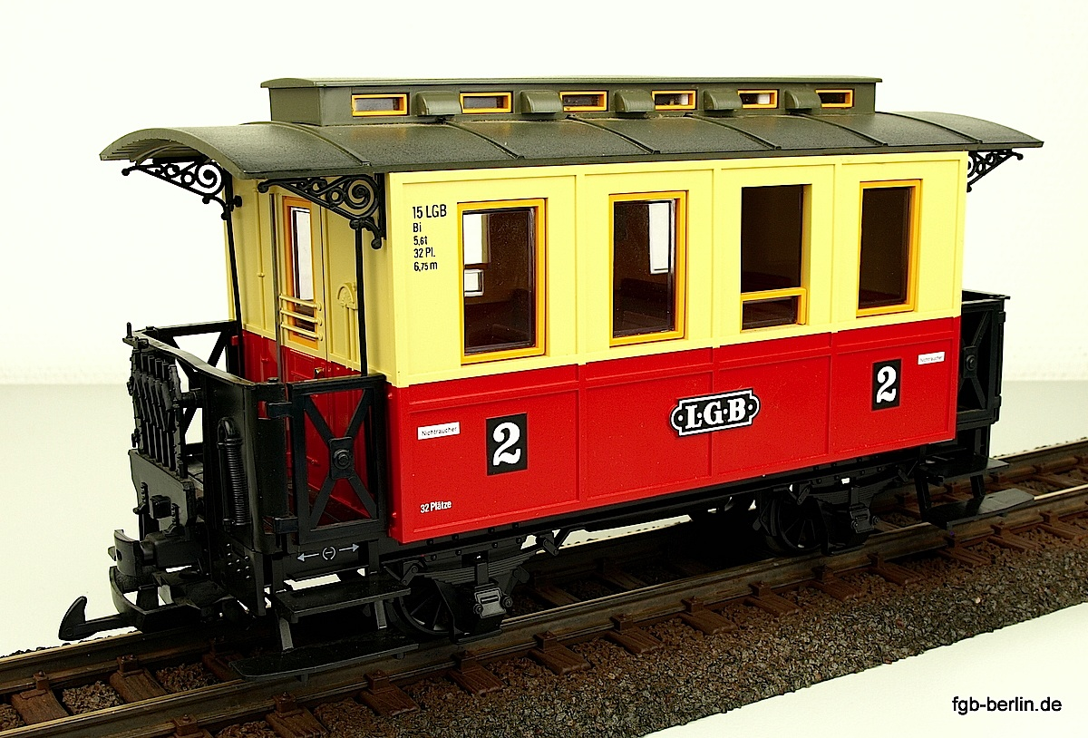 LGB Personenwagen 2. Klasse (Passenger car 2nd class) Version 6